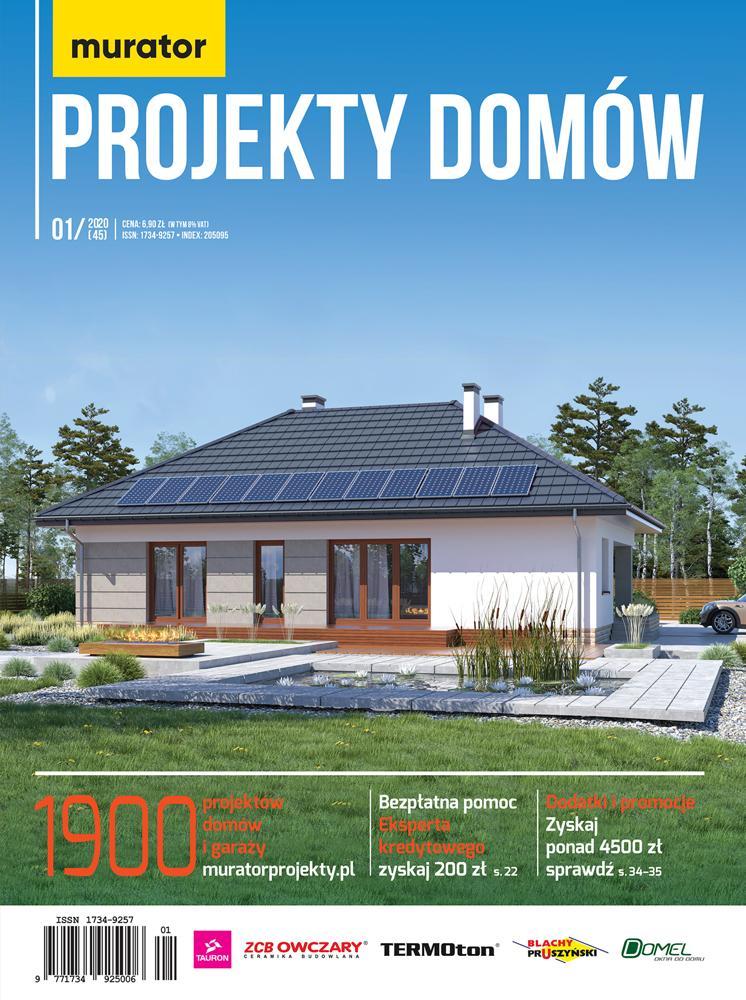 Katalog Murator Projekty Domów 1/2020 DRUK