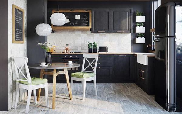 Jak dopasować zabudowę do wielkości kuchni: PROJEKT KUCHNI 2m, 2,5m, 3m szerokości