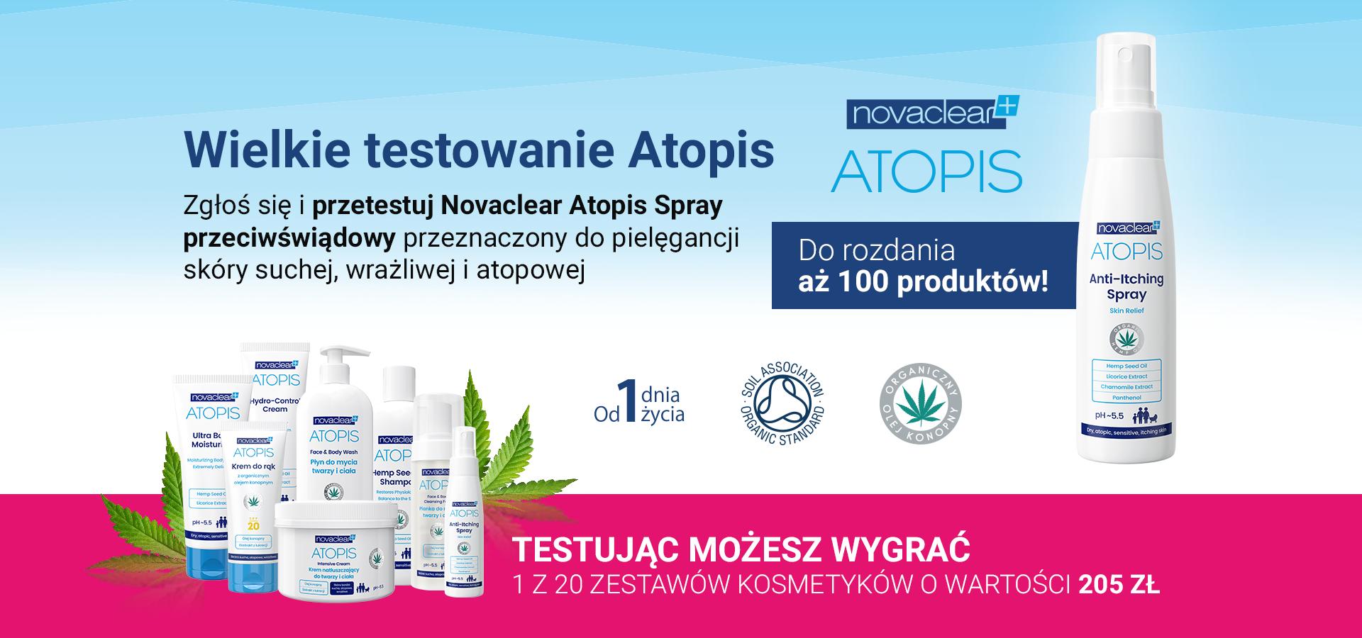 Wielkie testowanie Atopis